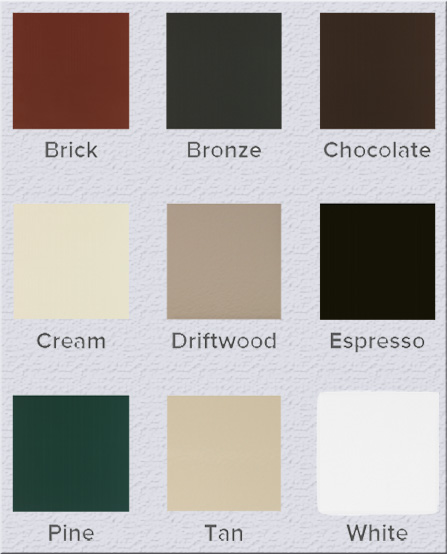 exterior window double hung colors