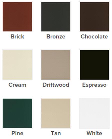 exterior color palette picture windows