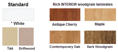 vinyl windows ultra series interior color choices
