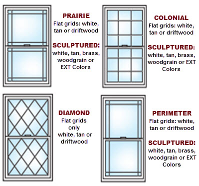 pattern options ultra series vinyl windows