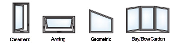 tampa ultra series window styles