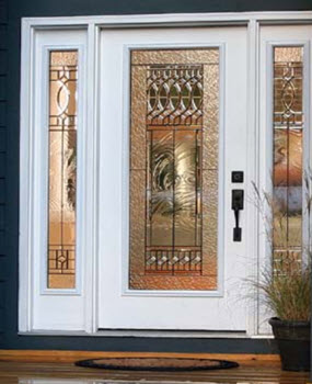 high velocity impact resistant decorative frontdoors