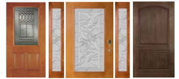 impact entry doors available in decorative or standard