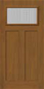 blanca textured door glass shown in bhi 2 panel entry door