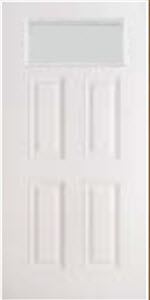 blanca textured glass in bhi 651BLC impact door