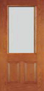 blanca textured glass 8/0 entry door
