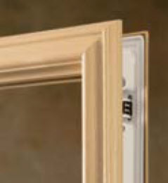 trysys door glass frame option
