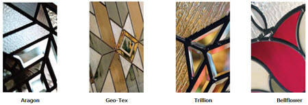 tile group for eclectic door glass collection