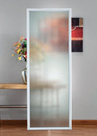 privacy level 9 geo tex door glass style