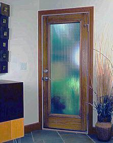 tampa windows and doors contractor ridge top exteriors offers geo-tex textured door glass option