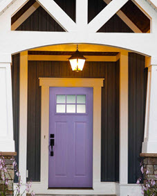 blanca decorative door glass in lavender entry way ridge  top exteriors tampa