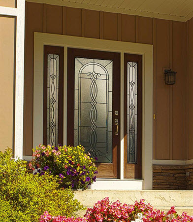 tampa windows door contractor offers avant decorative door glass from the odl old world collection