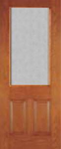 mosaic textured glass in 8/0 entry door 607MSC
