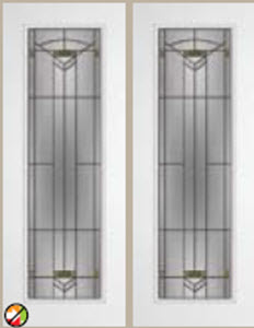 greenfield decorative glass 8/0 entry door