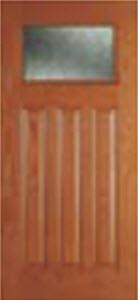 tampa entry doors bhi 814RN with rain glass
