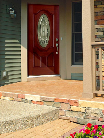 tampa windows door contractor offers bristol decorative door glass from the odl classic collection