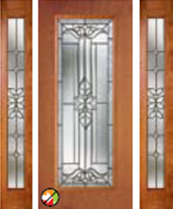 cadence glass in 686CD non-impact with  694CD sidelight