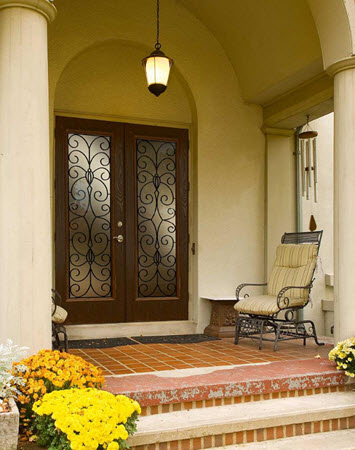 tampa windows door contractor offers catalina decorative door glass from the odl old world collection