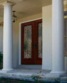 tampa windows and doors contractor ridge top exteriors offers catalina decorative door glass options in the old world collection
