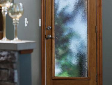 tampa windows and doors contractor ridge top exteriors offers cumulus textured door glass option