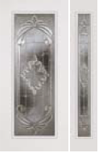 impact door 686ex with 694ex sidelight expressions glass