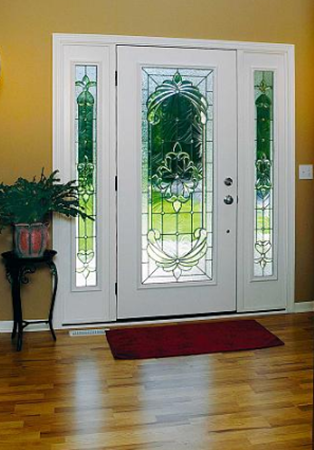 entry door glass expressions style from classic collection by odl