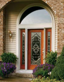 expressions decorative door glass entry way ridge  top exteriors tampa