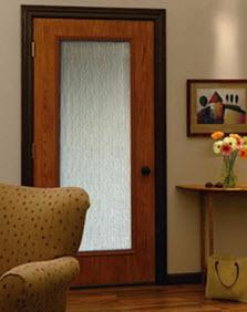 rain  glass insert sample fiberglass door