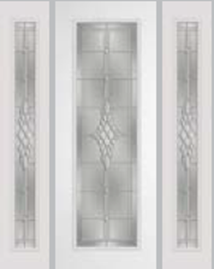8ft impact door 612GRC and 493grc sidelight with grace glass