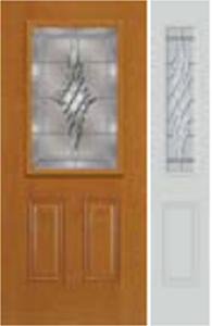 684GRC 692GRC  non-impact door with grace glass