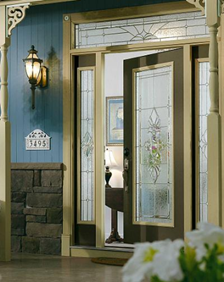 heirlooms decorative door glass entry way ridge  top exteriors tampa