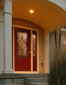 jacinto decorative door glass entry way ridge  top exteriors tampa