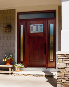 tampa windows and doors contractor ridge top exteriors offers madison decorative door glass options in the craftsman collection