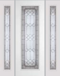 impact door 612MEN 8/0  with majestic glass