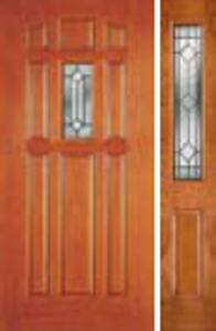 majestic glass in 640ME non-impact door with 692me