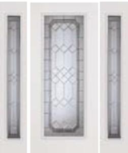impact door 686/687MEN  with majestic glass