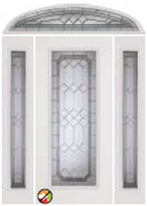 majestic glass 686me non-impact with 687me sidelight 694me transom