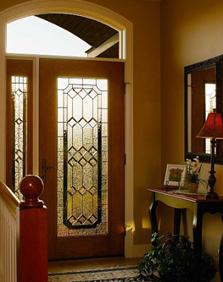majestic decorative door glass entry way ridge  top exteriors tampa