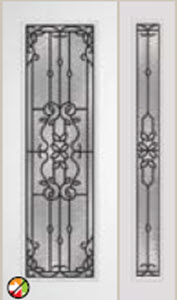 612md 8ft  mediterranean decorative glass