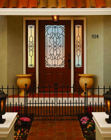 tampa windows door contractor offers mediterranean decorative door glass from the odl old world collection