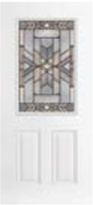 bhi entry door 684MOH with mohave decorative glass tampa contractor