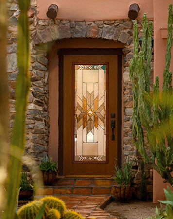 mohave entry door style from eclectic collection by odl