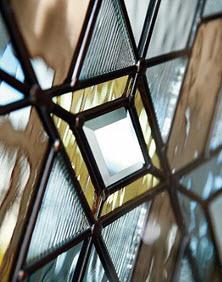 sample mohave decorative door glass
