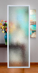 privacy level 8 mosaic door glass style