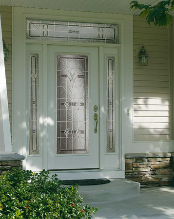 entry door glass radiant hues style from contemporary collection by odl