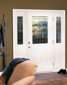 radiant hues decorative door glass entry way ridge  top exteriors tampa