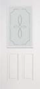 684TRC non-impact entry doors tampa contractor with trace decorative glass