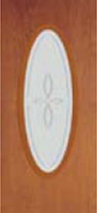 919TRC non-impact entry door tampa contractor with trace decorative glass