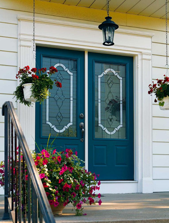 tampa windows door contractor offers tripoli decorative door glass from the odl classic collection