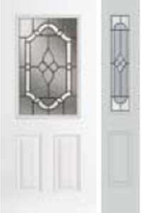 684TP non-impact entry door tampa contractor with tripoli decorative glass